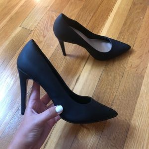 BLACK PUMPS WORN ONCE PERFECT CONDITION